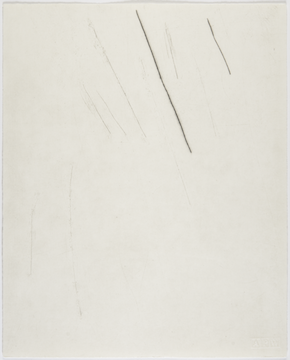 'Lines that could be scars (no. 1)', 2015, by Tom Nicholson