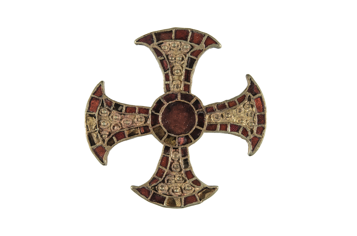 The Trumpington Cross, found in an Anglo-Saxon burial in Cambridgeshire