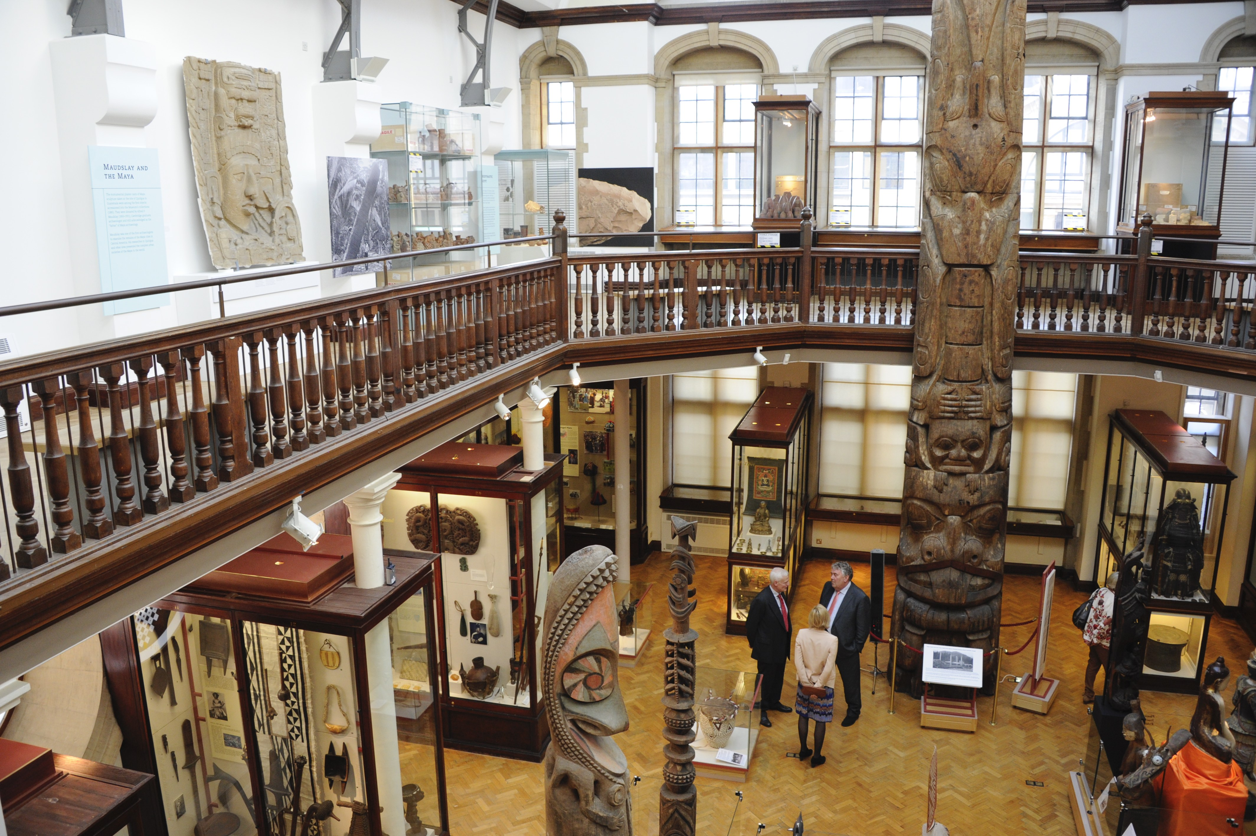 A view of the Maudslay Gallery from the Andrews Gallery