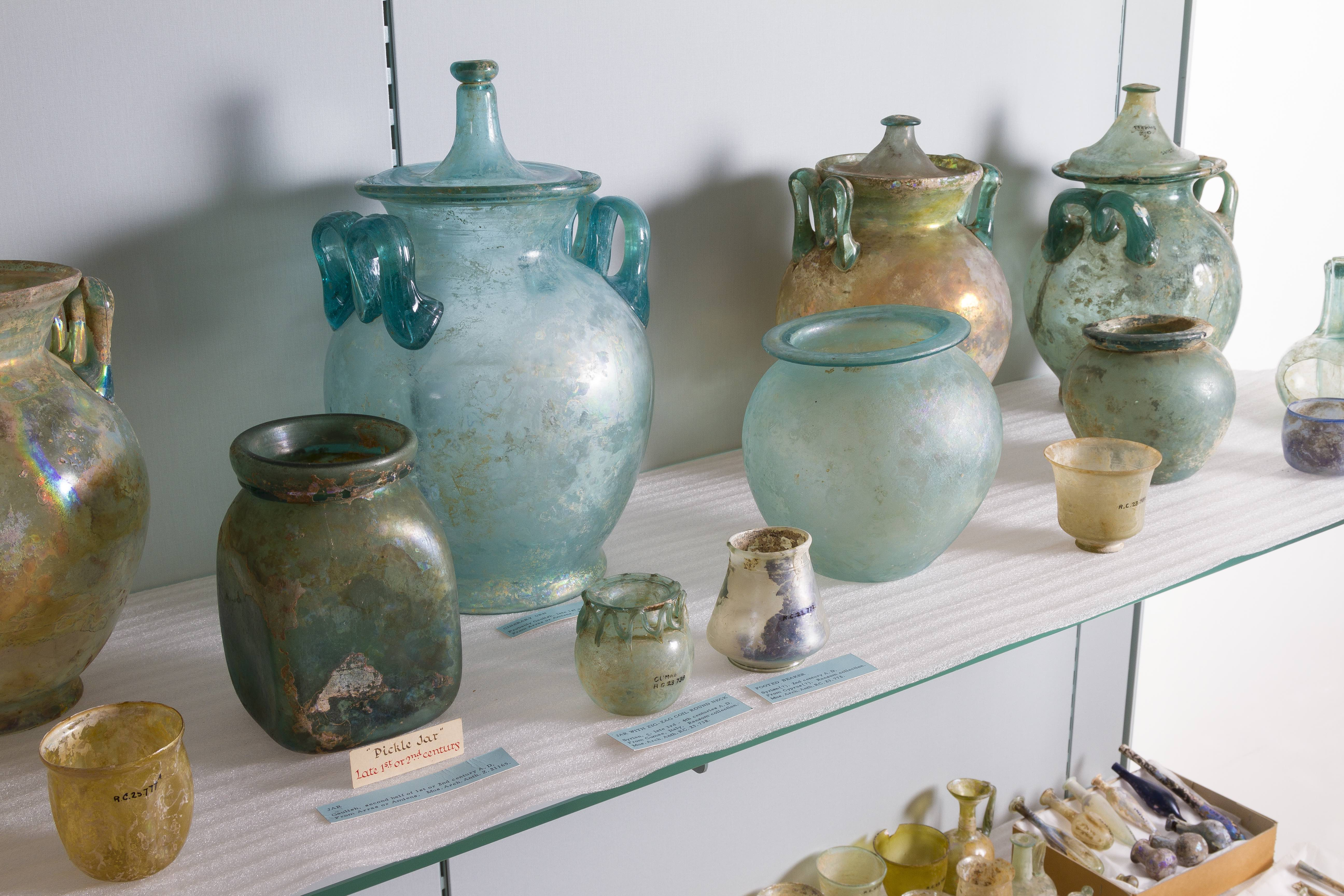 Glass from the Roman Empire