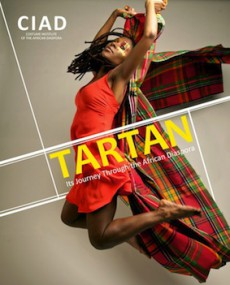 """Poster for the """"Tartan"""" exhibition"""
