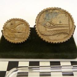 Steatite discs from New Kingdom Egypt