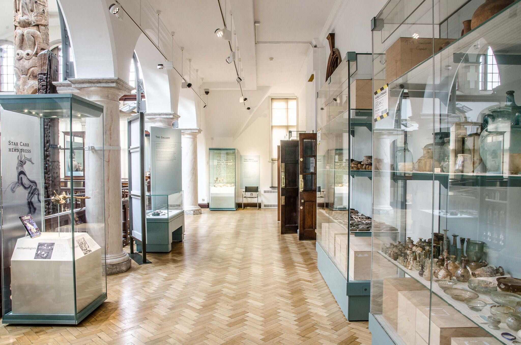 A view of part of the Andrews Gallery